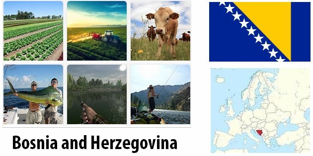 Agriculture and fishing of Bosnia and Herzegovina