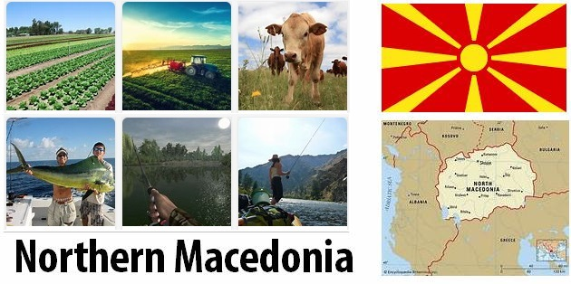 Agriculture and fishing of Macedonia