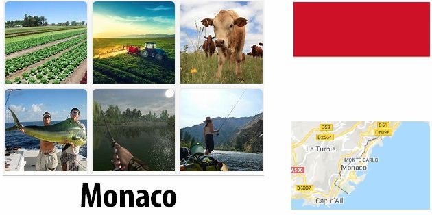 Agriculture and fishing of Monaco