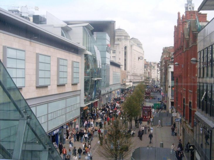 Shopping in Manchester