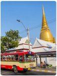 Travel and traveling to Bangkok