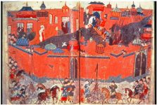 Mongols besieged Baghdad in 1258