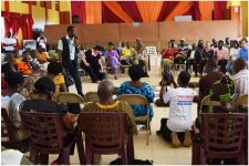 Open space conference in Gbarnga, Liberia