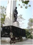 Statue of President Roberts in Monrovia