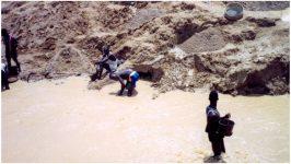 The search for diamonds in Liberia