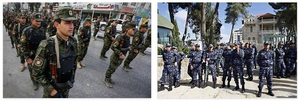Palestinian security services
