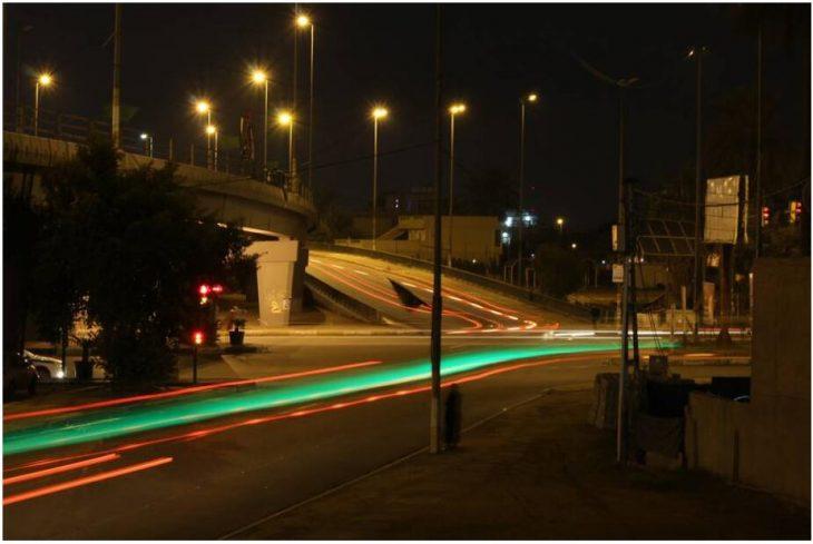 Streets of the capital Iraq