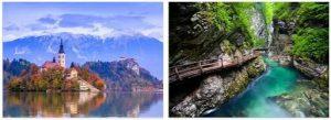 Attractions in Slovenia